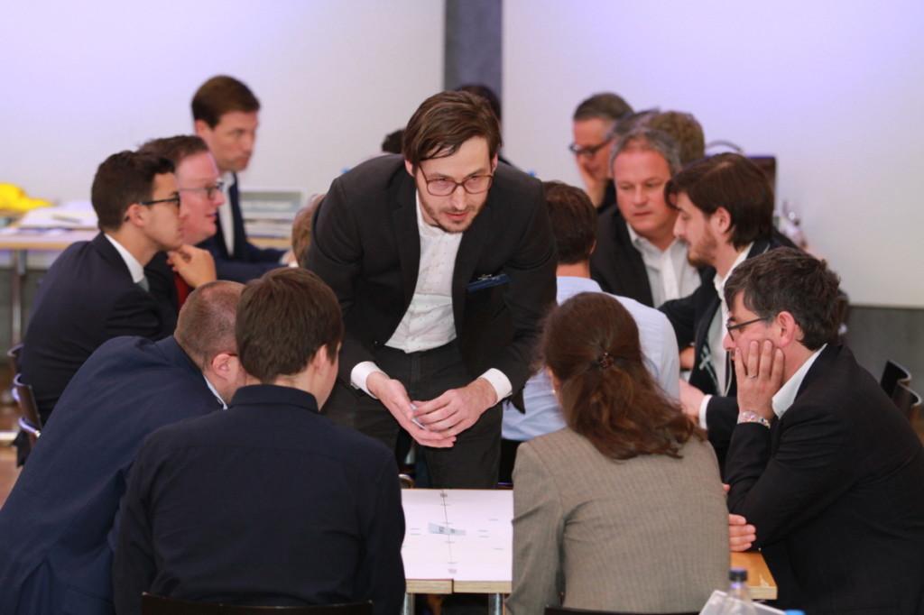 Andreas Huthwelker am Litigation-PR Mapping Workshop an der Litigation-PR-Tagung 2017