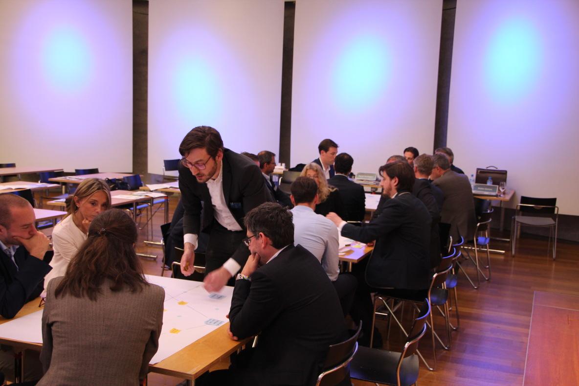 Litigation-PR Mapping Workshop an der Litigation-PR-Tagung 2017