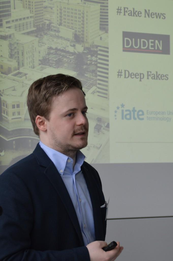 Christoph Abels an der Litigation-PR-Tagung 2019