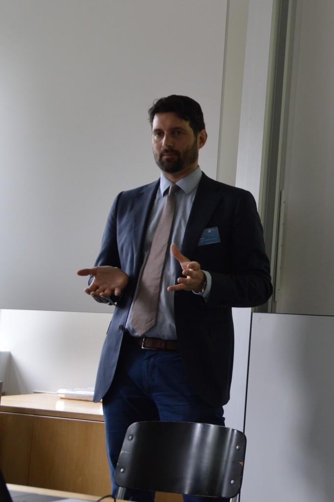 Martin Jenewein an der Litigation-PR-Tagung 2019